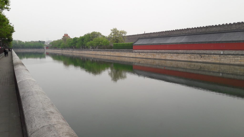 Moat around the Forbidden City