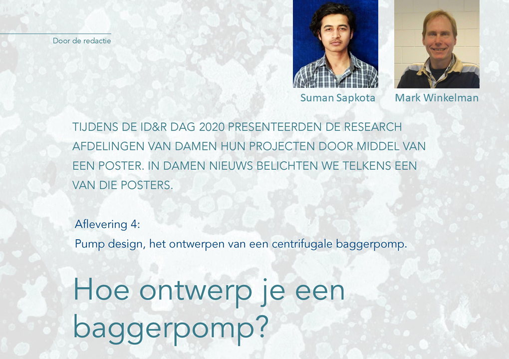 Headline of our interview in 'Damen Nieuws'